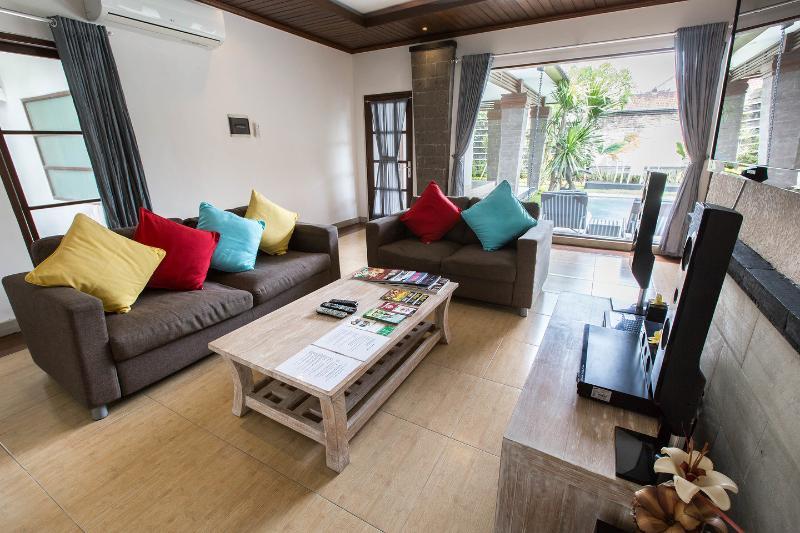 Living Room - Villa Aramis: 3 Br's villa in central Seminyak - Seminyak - rentals