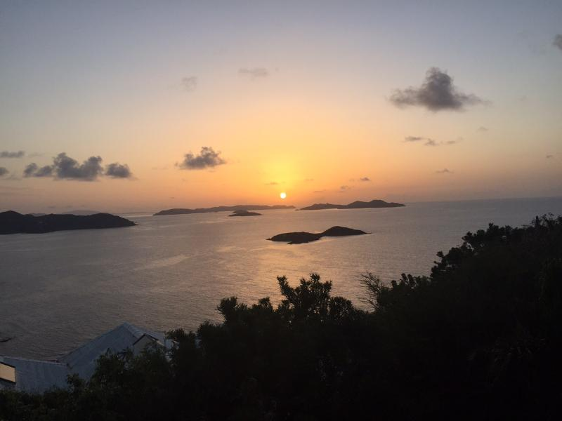 Spectacular sunrises over the British Virgin Islands - Caribe Breeze, Private Peaceful Luxury Villa/Pool - Coral Bay - rentals