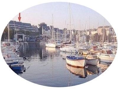 vue directe sur le port de plaisance... - Côté mer, Douarnenez - Douarnenez - rentals