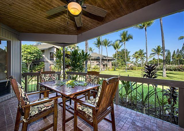 Large 2 bedroom, 2 bath condo with AC, beautiful Garden and Golf Course Views - Image 1 - Kailua-Kona - rentals