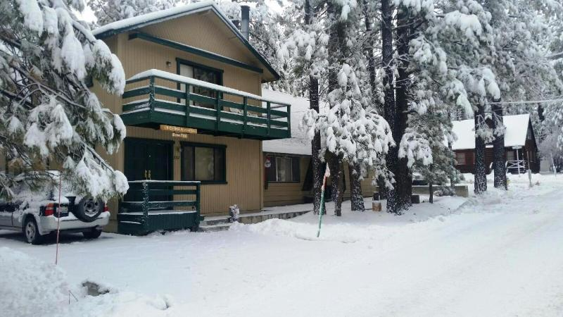 Winter - Bear Pad,3BR,Slps 10,Sunken Jacuzzi, Level Parking - Big Bear Lake - rentals