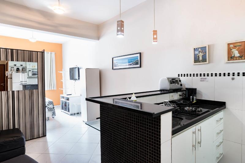 Kitchen - COPACABANA - COMFORTABLE STUDIO - Rio de Janeiro - rentals