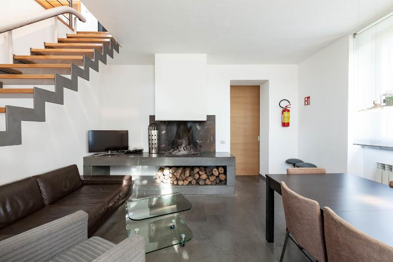 Dining Room - CASALFATTORIA-Luxury&Design AC Parking Garden WiFi - Rome - rentals