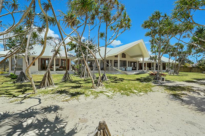 View from beach - Beach Villa 'GUDFELA PLES', White Sands, Vanuatu - Port Vila - rentals