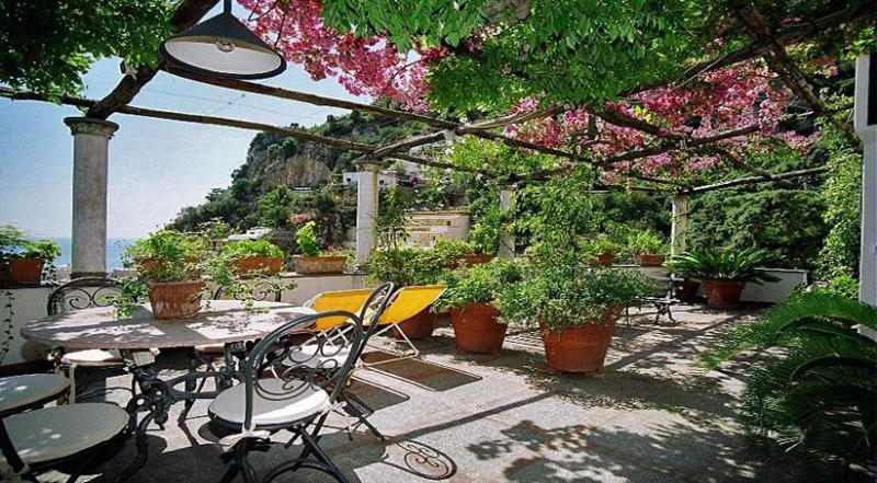 01 Villa Marea terrace - VILLA MAREA Positano - Amalfi Coast - Positano - rentals