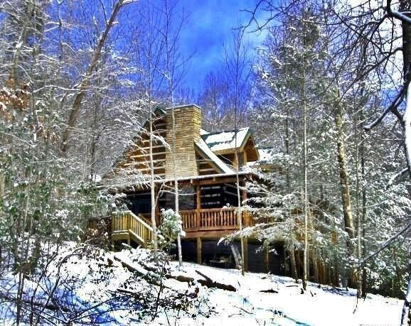 Custom Log Home, Quiet Mtn.Setting, Close to Town, - Image 1 - Sevierville - rentals