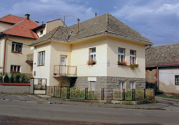 view of the house - Apartment Magdalena - Slovakia Tatras mountains - Zavazna Poruba - rentals