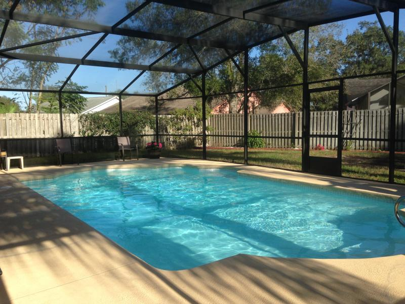 Private pool - quiet and relaxing  Pool furniture included and a BBQ - Serenity Villa - Poinciana - rentals