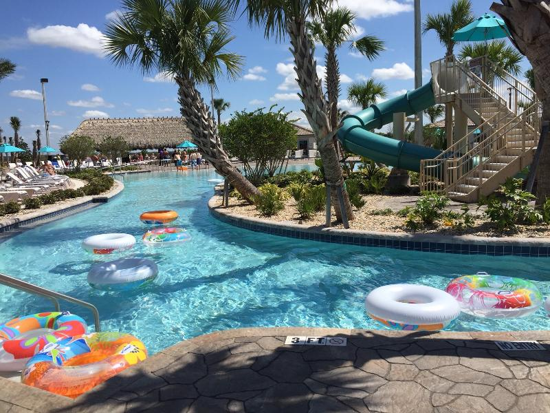 Oasis Water park steps away from the house for free access - New 9 Bedroom, Pool, TV, Wifi, Disney, Golf - Reunion - rentals