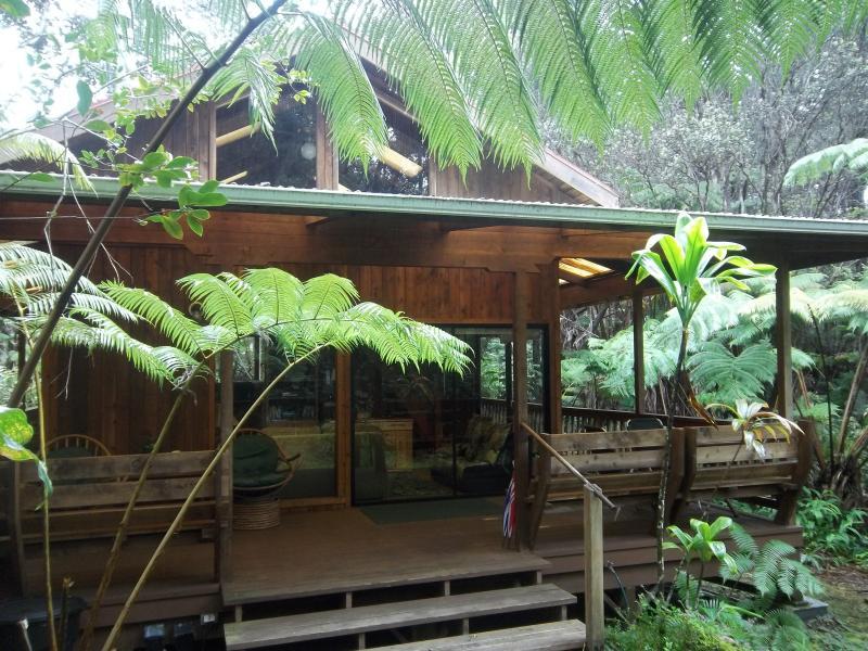 Hale Iki - Honeymoon Chalet, Volcano Hawaii $145+ - Image 1 - Volcano - rentals