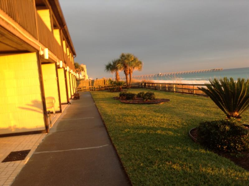REAL DEAL/GROUND FLOOR BEACH 30 ft away - WALK out SLIDING DOOR to BEACH/REAL DEAL - Panama City Beach - rentals
