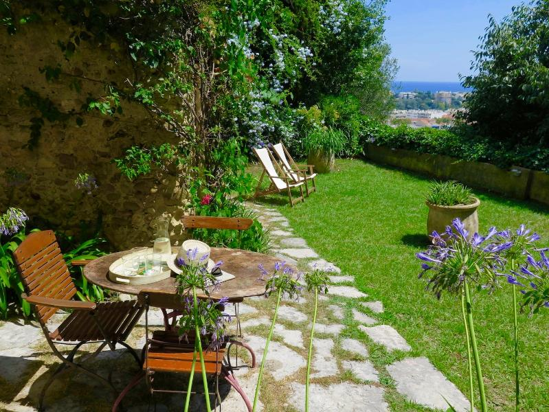 Terrace sea view - Charming Stone Cottage - Lovely Garden + Terrace - Cagnes-sur-Mer - rentals