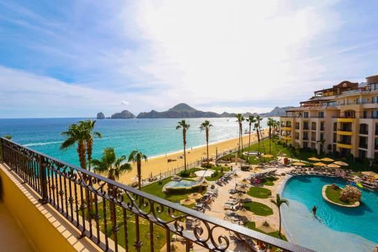 Ocean Front Two Bedrooms - Fourth Floor - Medano Beach & Lands Ends Views - Image 1 - Cabo San Lucas - rentals