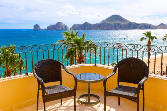 Beachfront Three Bedrooms - 4th Floor – Medano Beach - Land's End & Bay Views! - Image 1 - Cabo San Lucas - rentals