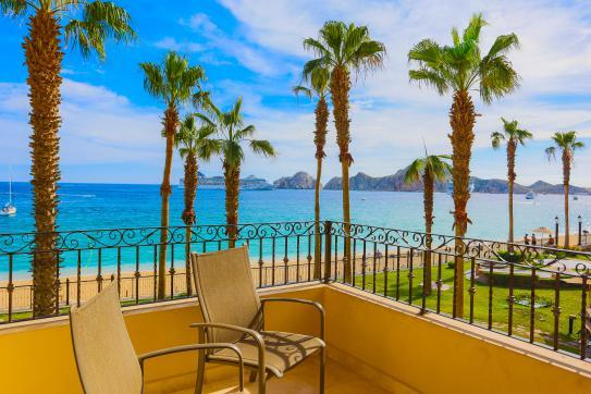 Closest Ocean Front Two Bedroom to Medano Beach - 2nd Floor - Image 1 - Cabo San Lucas - rentals