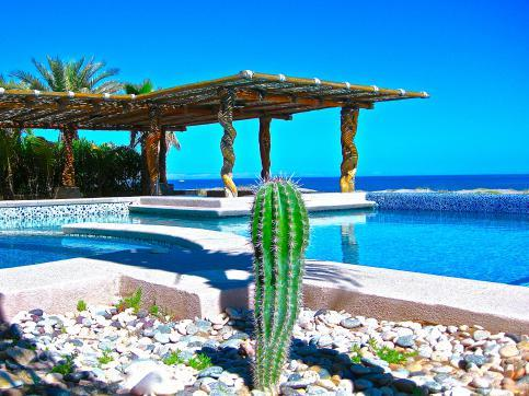 Beachfront Villa Estrella de Mar - Private Pool - Golf Course - Catering Services - Image 1 - La Paz - rentals