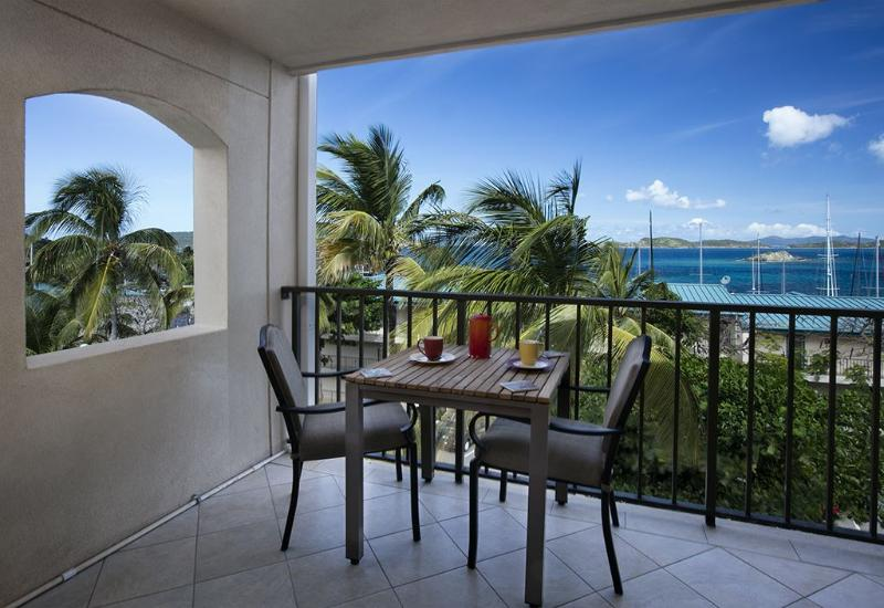 Alfresco dining on your private balcony - Brand New!! Sapphire Breeze Studio Condo - East End - rentals