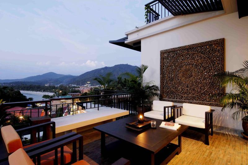 Spacious Outdoor Terrace With Beautiful Views Over Kata Beach - Modern Tropical 3 Bed Walk To Beach - Kata - rentals