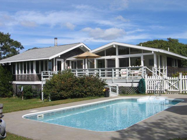Idylic Chilmark Home with pool!! (386) - Image 1 - Massachusetts - rentals