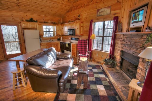 Living Space - Couple's Retreat - Helen - rentals