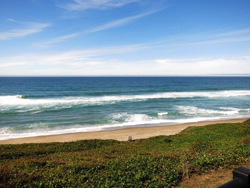 Whale Spout - View off Balcony - WHALE SPOUT - Gleneden Beach, Cavalier - Seal Rock - rentals