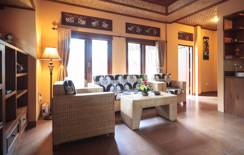 Living Room, Sawo Apartment 1, Murni's Houses , Ubud, Bali - Murni's Houses, Ubud, Bali - Sawo Apt 1 - Ubud - rentals
