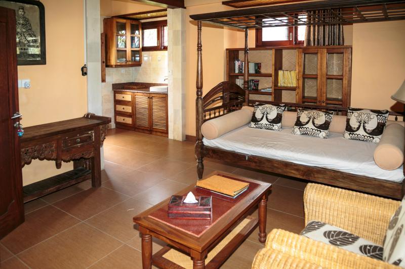Living Room, Sawo Apartment 2, Murni's Houses, Ubud, Bali - Murni's Houses, Ubud, Bali - Sawo Apt 2 - Ubud - rentals