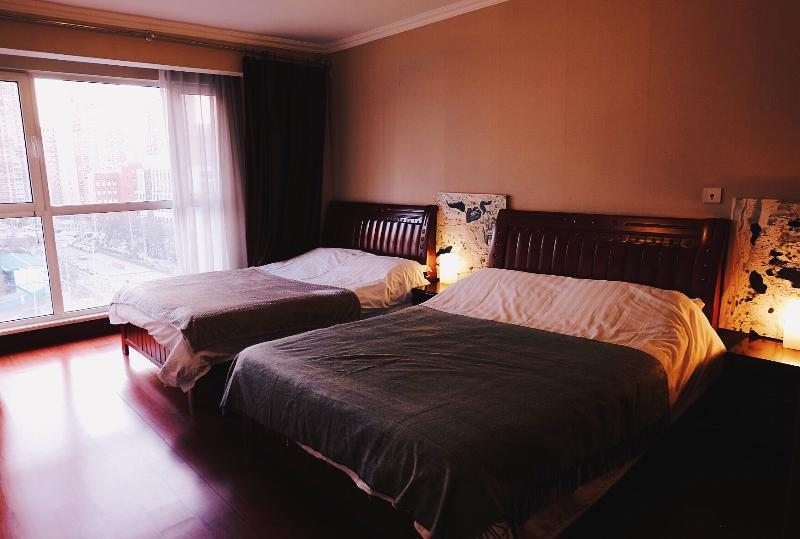 Master Bedroom - 3BD/2BTH (4Beds) Serviced Apt - Beijing (A32) - Beijing - rentals