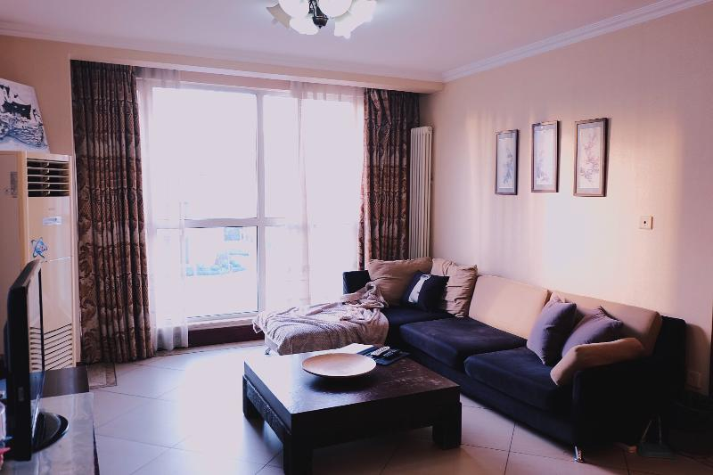 Living room - 3BD 2BTH (3Beds) Eastapt-Fully Serviced Apartment-Beijing (CBD) #6 - Beijing - rentals
