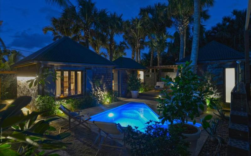 Palm House - Ideal for Couples and Families, Beautiful Pool and Beach - Image 1 - Anse des Flamands - rentals