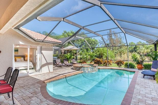 Luxurious Lake Villa. Private Southern Exposure! H - Image 1 - Naples - rentals