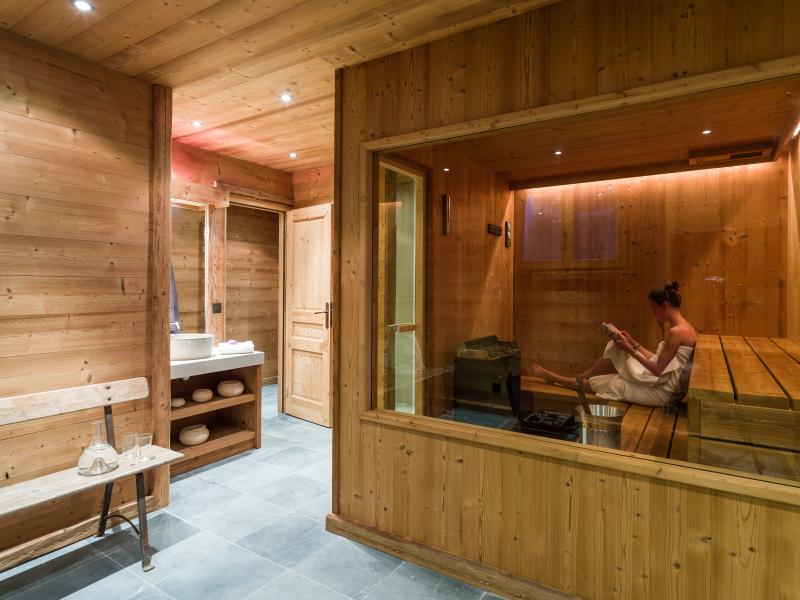 Sauna and wellness area - chalet Marmotte Mountain Zenith (2), Argentiere, Chamonix - Marmotte Mountain Zenith (2) - Argentiere Chamonix - Chamonix - rentals