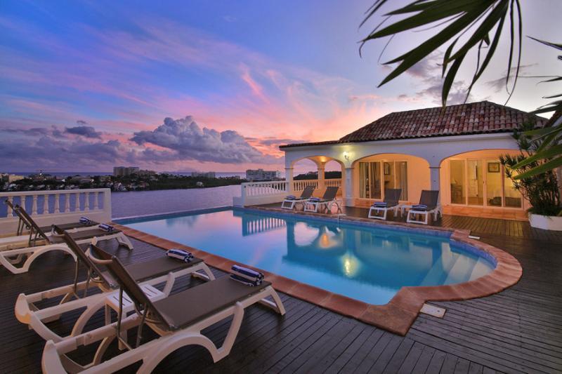 ESCAPADE... gorgeous lagoon views and tennis court!... - Image 1 - Terres Basses - rentals