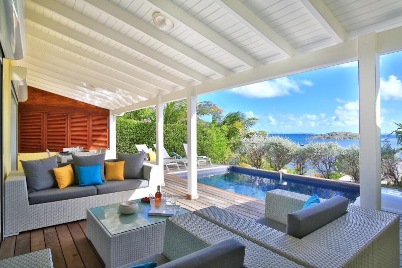 Little Paradise II, French Cul de Sac, St Martin - LITTLE PARADISE II... Charming 3 BR  villa with beautiful views, 7 min drive to Orient Beach or Grand Case! - Cul de Sac - rentals