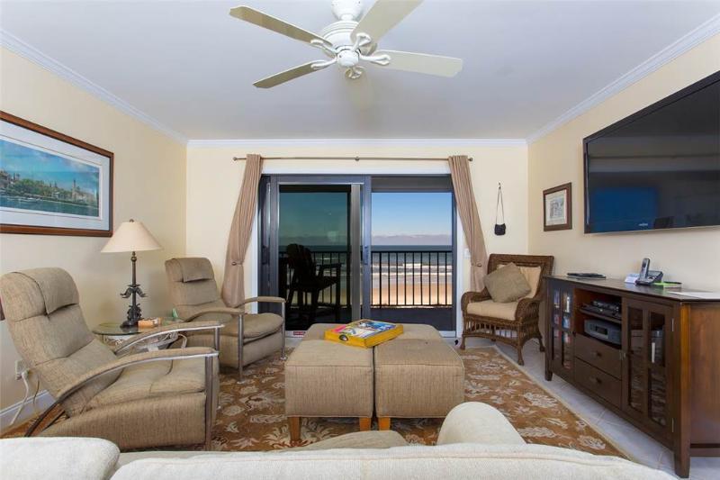 Windjammer 314, 2 Bedrooms, Ocean Front, Elevator, Pool, Sleeps 6 - Image 1 - Saint Augustine - rentals