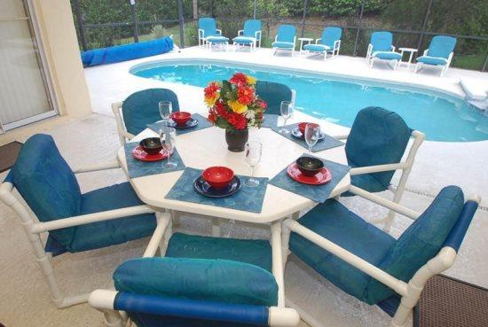 4 Bedroom 3 Bath Pool & Spa Home with Games Room near Disney. 214MD - Image 1 - Orlando - rentals