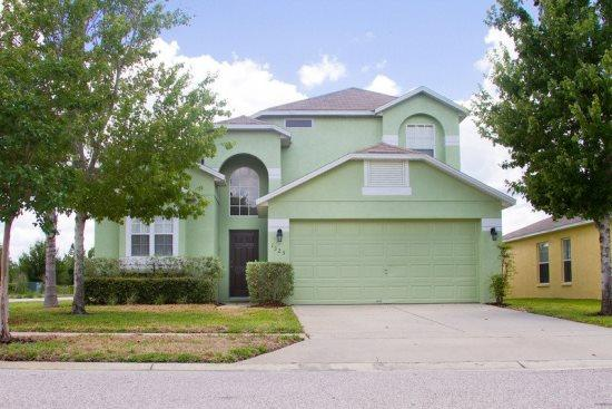 4 Bedroom 3 Bath Pool Home Near Disney in Silver Creek. 1323ZUR - Image 1 - Orlando - rentals