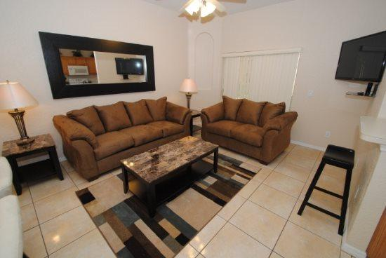 Beautiful 3 Bed 3 Bath Townhome in Regal Palms Resort and Spa. 234CAM - Image 1 - Orlando - rentals