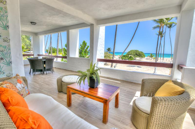 Incredible Oceanfront 3 Bedroom Apartment S-B201 - Image 1 - Bavaro - rentals