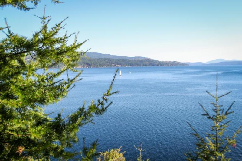 Lakefront retreat w/ magnificent views, secluded bay, & private hot tub! - Image 1 - Harrison - rentals
