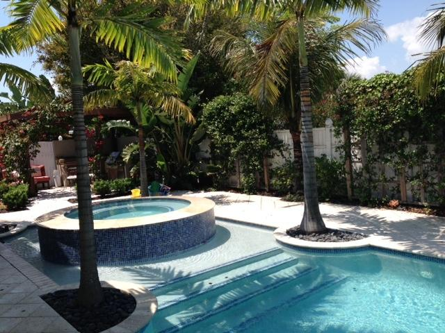 Private pool with 10 person spa - Private Beach Home w/pool MONTHLY SPECIAL** - Hutchinson Island - rentals
