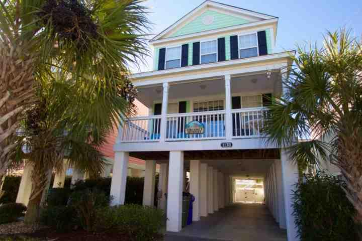 Sherbet Hermit, Large Luxury Home w/Private Pool, Just 75 Steps to Surfside Beach - Image 1 - Surfside Beach - rentals