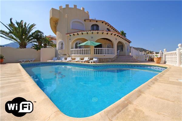 6 bedroom Villa in Calpe, Costa Blanca, Spain : ref 2209069 - Image 1 - Calpe - rentals