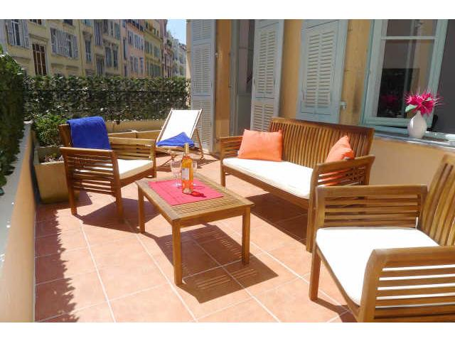 CARRE D'OR TERRACE - AP4015 - Image 1 - Nice - rentals