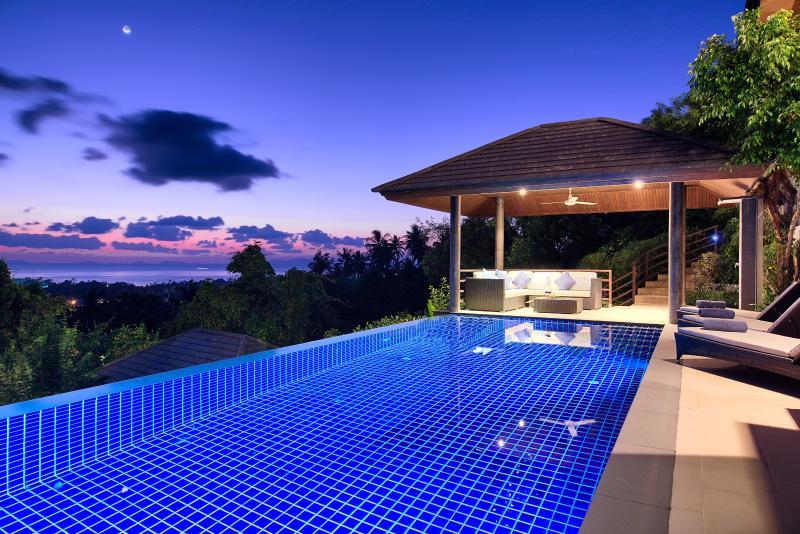 Sunset Heights Villa Koh Samui - Image 1 - Lipa Noi - rentals