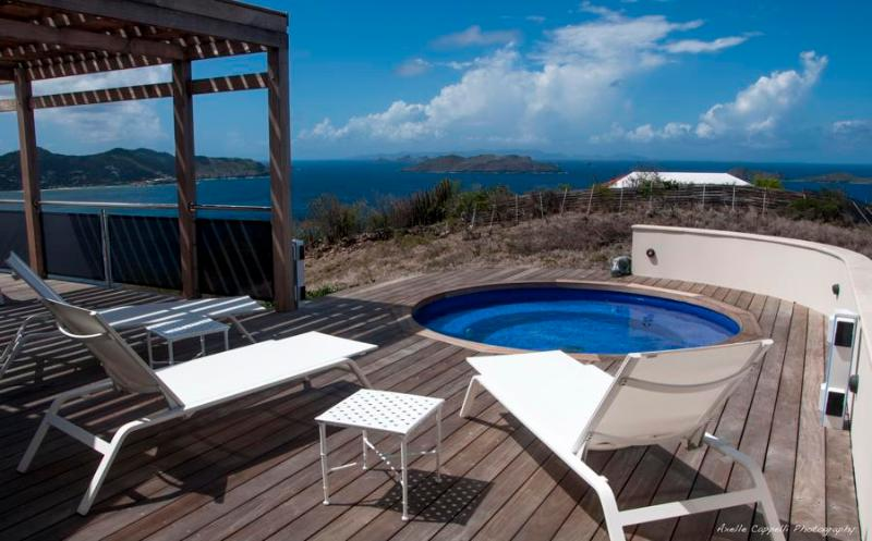Stunning Panoramic Ocean Views from Pointe Milou - Image 1 - Pointe Milou - rentals