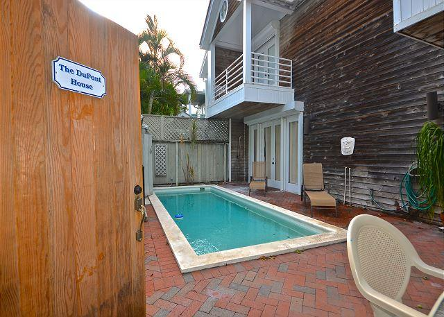 Private pool and outdoor space - Du Pont House - LuxuryHome with Private  Heated Pool - 1/2 Block To Duval St - Key West - rentals