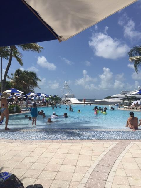 Pool and Marina - Ocean Side Villa  in Exclusive Key Largo Community - Key Largo - rentals