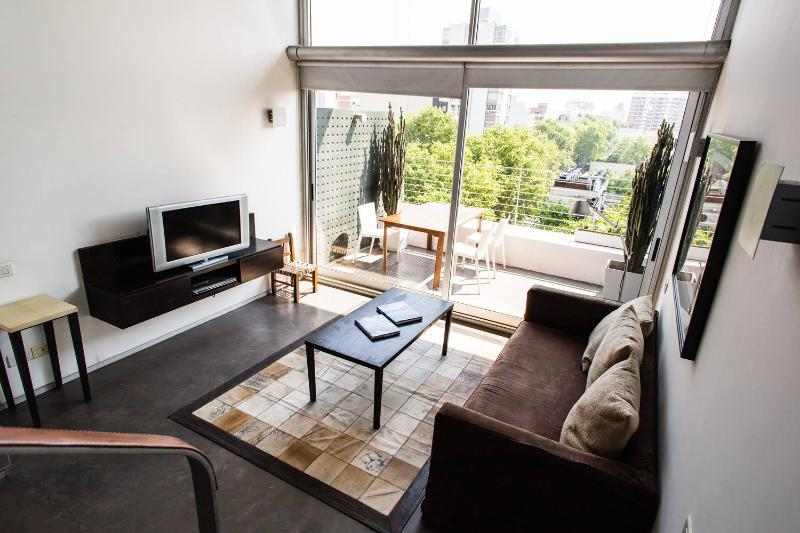 Bright & Airy 1 Bedroom Loft in Palermo Hollywood - Image 1 - Buenos Aires - rentals