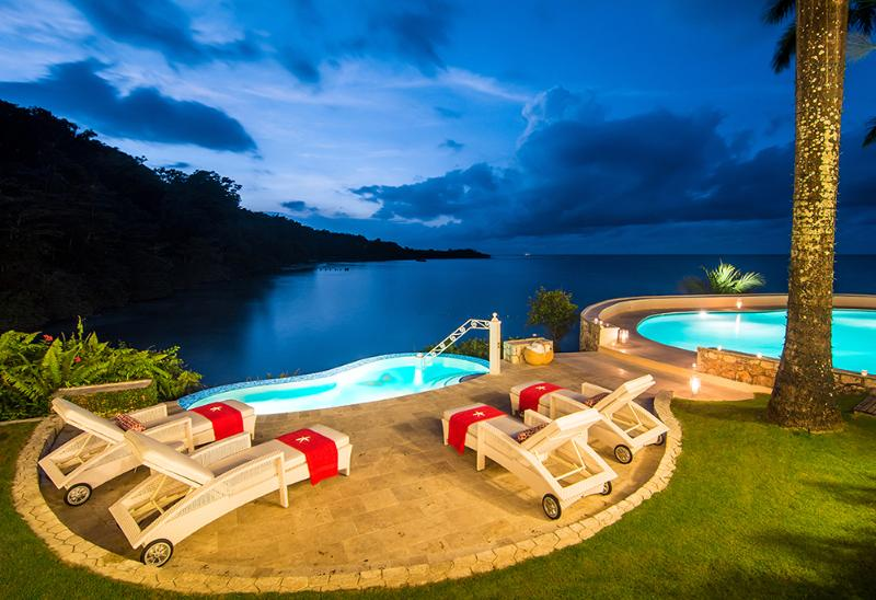 14-Acre Beachfront Estate, Chef & Butler, 2 Private Beaches, Sailboat/Kayaks & Water Toys, Tennis - Image 1 - Ocho Rios - rentals